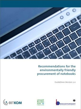 Environmentally friendly procurement notebooks